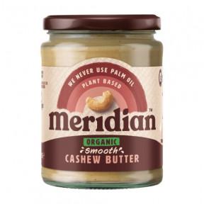 Mantequilla Ecológica de Anacardo suave Meridian 170g
