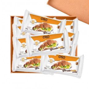 Pack 40 CiaoCarb Protobrio Stage 2 Salty Croissant 1 unit 50 g