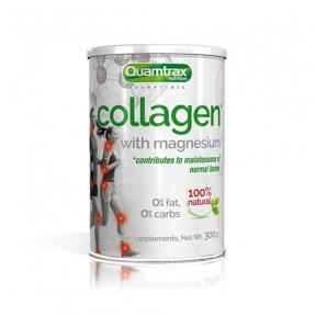 Colagénio com Magnésio Quamtrax 300g pulverizado