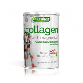 Colágeno con Magnesio Quamtrax 300g en polvo