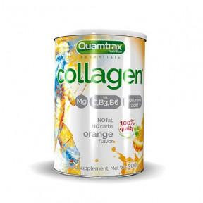 Quamtrax Magnesium Collagen Orange flavor 300g powder