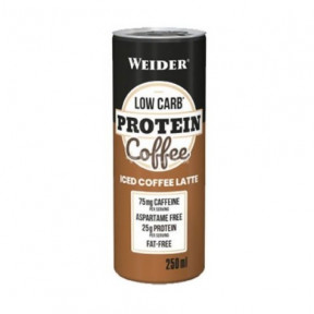 LowCarb Protein Iced Coffe par Weider 250ml
