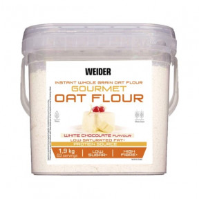 Weider White Chocolate Flavor Gourmet Instant Whole Oatmeal 1,9kg