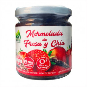 Mermelada Natural de Fresa y Chía GoFood 250g
