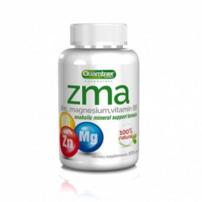 ZMA Essentials Quamtrax 100 cápsulas
