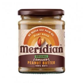 Manteiga de Amendoim Orgânica Suave Meridian 280g
