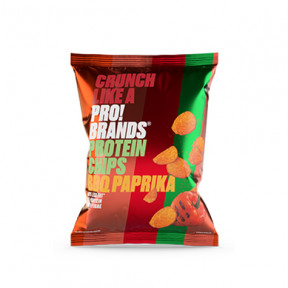 Pro!Brands BBQ and Paprika Flavor Protein Chips 50g