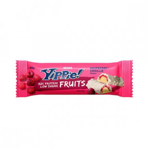 Low Carb Yippie! Tablette Framboise-Vanille Weider 45 g