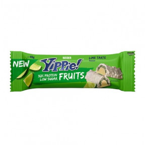 Low Carb Yippie! Fruits Lime Tart Bar Weider 45 g