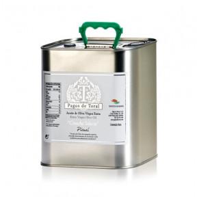 Huile d'Olive Extra Vierge Sélectionnez Récolte Pagos de Toral 2.5L