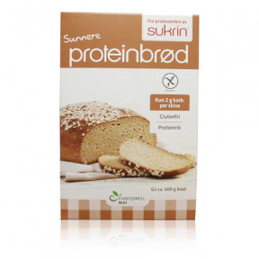 Sukrin (Proteinbrød) Prepared to Elaborate Protein Bread with Oats and Sesame 220g