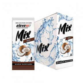 Pack of 24 Envelopes ElevenFit Coconut Flavor Mix Drinks 9g
