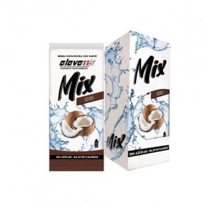Pack de 12 Sobres Bebidas Mix Sabor Coco de ElevenFit 9g