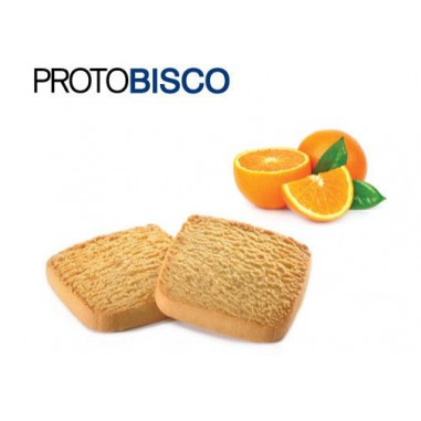 CiaoCarb Protobisco Stage 1 Orange Flavor Cookies 50g