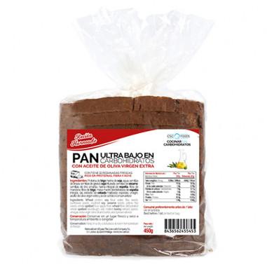 Pan Ultra Bajo en Carbohidratos CSC Foods 450g