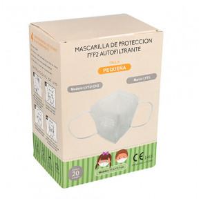 Caixa de 20 máscara infantil FFP2 padrão EN149: 2001 filtro respiratório com marcação CE