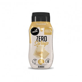 Quamtrax Gourmet White Chocolate Syrup 0% calories 330ml