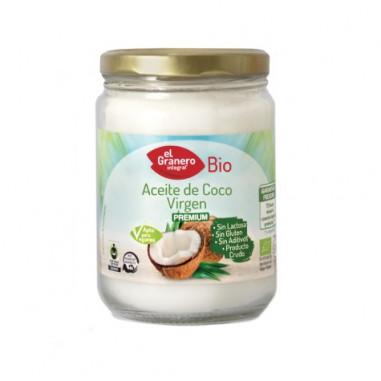 Aceite de Coco Virgen Ecológico 500ml Granero Integral