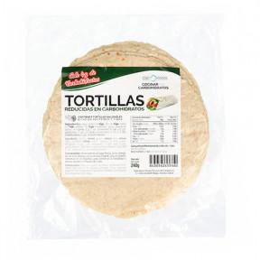 Tortillas à Teneur Réduite en Glucides CSC Foods 240g (6x40g)