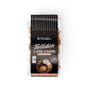 Bocado Functional Foods Low Carb Mini Toasts 125g
