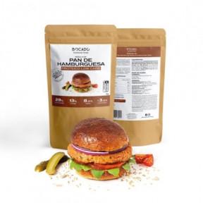 Mistura de Pão de Hambúrguer Low Carb por Bocado Functional Foods 1kg