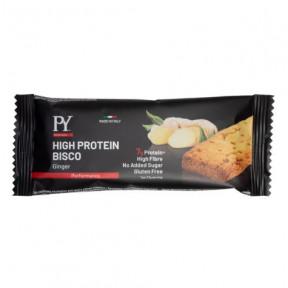 Biscuit protéiné High Protein Bisco Gingembre Pâtes Saveur Jeune 37g offert à partir de 39€ d'achat