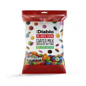 :Diablo Sugar-Free Coated Milk Chocolate Button 40g