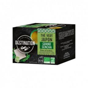 Destination Grand Sencha Japanese Green Tea 20 pcs.
