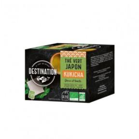 Destination Kukicha Japanese Green Tea 20 pcs.