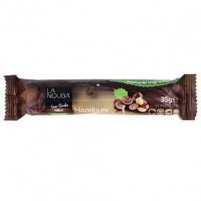 Free LaNouba Low Carb Milk Chocolate with Hazelnut Stevia bar 35 g