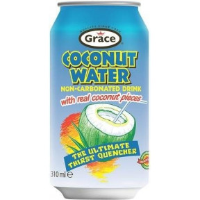 Agua de Coco con trozos de coco