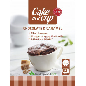 Gâteau en Tasse Chocolate & Caramel Sukrin 65g