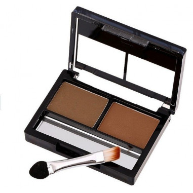 Eyeshadow Duo Case Brown and Black