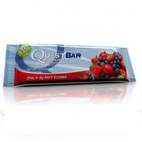 Barrita Proteica Sabor Frutas del Bosque Quest 60g