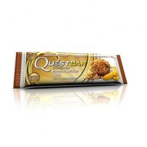 Barre Protéinée Saveur Muffin aux Bananes et aux Noix Quest 60g