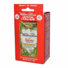 Salsa Italiana Walden Farms 6 sobres de 28 g