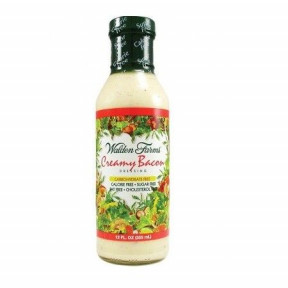 Salsa Cremosa de Bacon Ahumado Walden Farms 355 ml