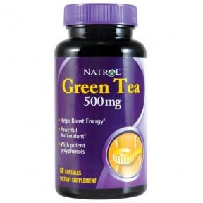 Capsules de Thé Vert Natrol 500 mg