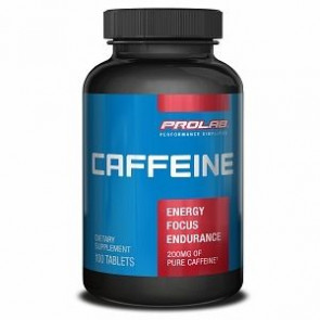 Prolab Pure Caffeine Capsules 200 mg 100 Tablets