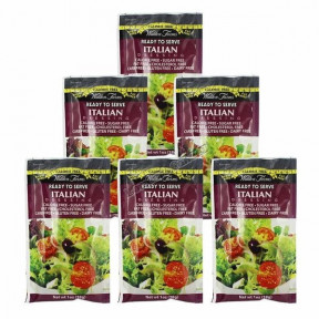 Walden Farms Italian Dressing, single packet of 28 g