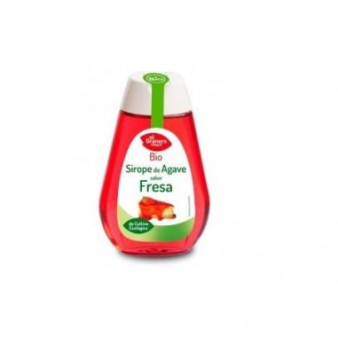 Xarope de Agave sabor Morango Bio, 335 g