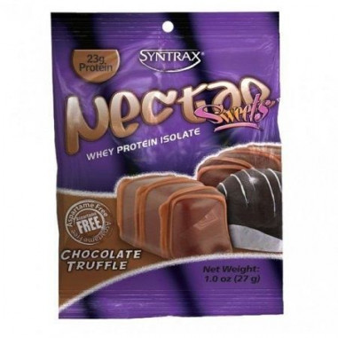 Syntrax Nectar Sweets Grab N'Go Whey Protein Isolate Sabor Trufa de Chocolate 27 g