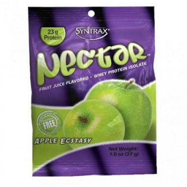 Syntrax Nectar Grab N'Go Whey Protein Isolate Apple Ecstasy 27 g