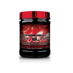 Créatines Hot Blood 3.0 de Scitec Nutrition Orange Sanguine 300 g