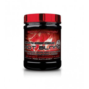 Creatinas Hot Blood 3.0 de Scitec Nutrition Naranja Sanguina 300 g