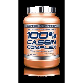 100% Casein Complex Chocolate Belga Scitec Nutrition 920 g