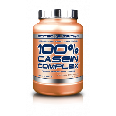 100% Casein Complex Belgian Chocolate Scitec Nutrition 920 g