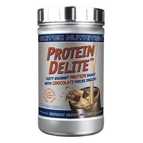 Protein Delite shake de proteína de Chocolate ao leite alpino com tropeços Scitec Nutrition