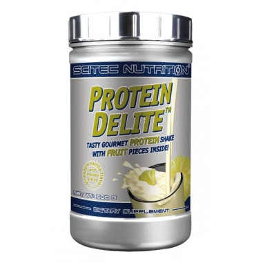 Pineapple Vanilla Protein Delite Protein Shake with fruit pieces Scitec Nutrition