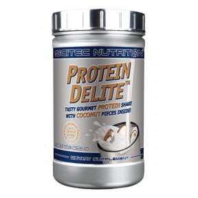 Protein Delite shake de proteína de Amendoas com Coco com tropeços Scitec Nutrition